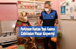 Parkinson Hastası Yaşlı Kadına Zabıtadan Pazar...