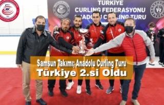 Samsun Takımı; Anadolu Curling Turu Türkiye 2.si...