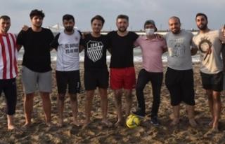 15. OMÜ Tanıtım Günleri Plaj Futbol Müsabakaları...