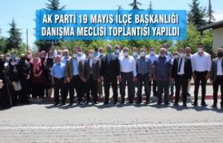 AK Parti 19 Mayıs İlçe Başkanlığı Danışma...