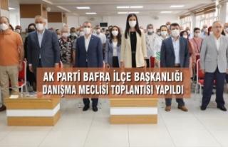 AK Parti Bafra İlçe Danışma Meclisi Toplantısı...