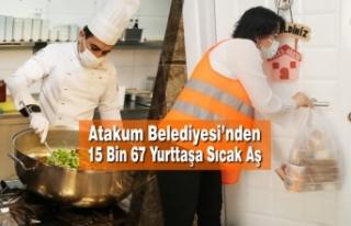 Atakum Belediyesi'nden Karantinadaki 15 Bin Yurttaşa...