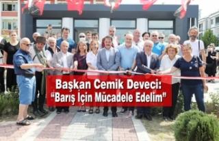 """Atakum'da """"Adige Kültür Parkı"""" Açıldı"""