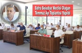 Bafra Belediye Meclisi Olağan Temmuz Ayı Toplantısı...