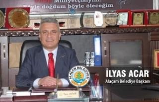Başkan Acar'dan Kurban Bayramı Kutlama Mesajı