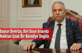 Başkan Demirtaş, Dört Duvar Arasında Halktan Uzak...