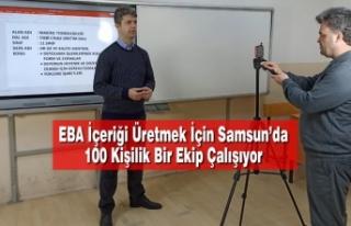 EBA İçeriği Üretmek İçin Samsun'da 100 Kişilik...