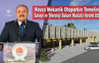 Havza Mekanik Otoparkın Temelini Sanayi ve Teknoloji...
