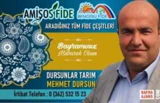 İş İnsanı Mehmet Dursun'dan Kurban Bayramı...