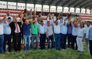 Karadeniz'in Kırkpınarı Alaçam, Güreş'e...