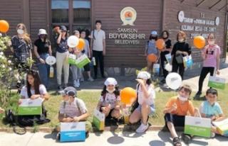 Kızılırmak Deltası'nda Öğrencilere 'Doğa...
