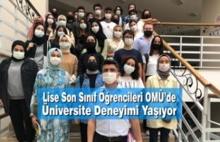 Lise Son Sınıf Öğrencileri OMÜ'de Üniversite...