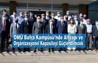 OMÜ Bafra Kampüsü'nde Altyapı ve Organizasyonel...
