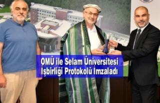 OMÜ ile Selam Üniversitesi İşbirliği Protokolü...
