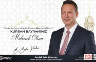 Serdal Sefa Kocabaş'tan Kurban Bayramı Mesajı