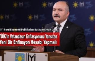 USTA: TÜİK'in Vatandaşın Enflasyonunu Yansıtan...