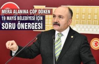 Usta'dan Mera Alanına Çöp Döken 19 Mayıs Belediyesi...