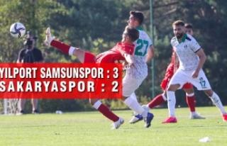 Yılport Samsunspor : 3 - Sakaryaspor : 2
