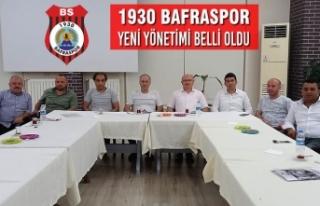1930 Bafraspor Yeni Yönetimi Belli Oldu