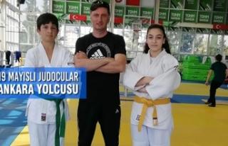 19 Mayıslı Judocular Ankara Yolcusu
