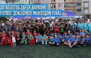 30 Ağustos Zafer Bayramı Futbol Şenliğinde Muhteşem...