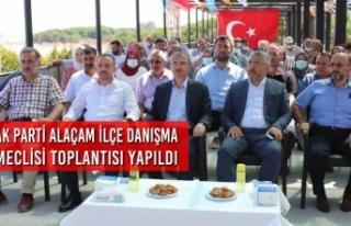 AK Parti Alaçam İlçe Danışma Meclisi Toplantısı...