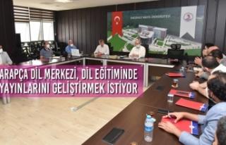 Arapça Dil Merkezi, Dil Eğitiminde Yayınlarını...