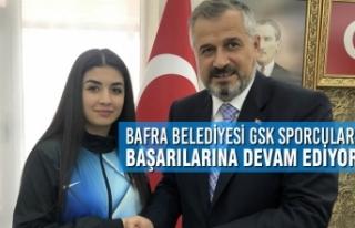 Bafra Belediyesi GSK Sporcuları Başarılarına Devam...