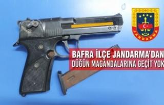 Bafra İlçe Jandarma'dan Düğün Magandalarına...