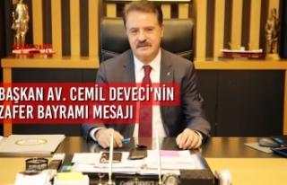 Başkan Av. Cemil Deveci'nin 30 Ağustos Zafer...