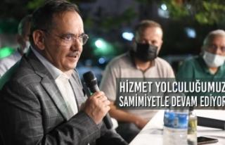 Başkan Demir : Hizmet Yolculuğumuz Samimiyetle Devam...