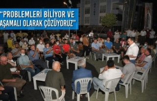 """Başkan Demir; """"Problemleri biliyor ve aşamalı..."""