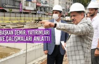 Başkan Demir, Yatırımları ve Çalışmaları Anlattı