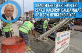 Başkan Demirtaş, Hizmet Belediyeciliği İle Gönüllere...