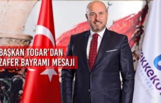 Başkan Togar'dan 30 Ağustos Zafer Bayramı Kutlama...