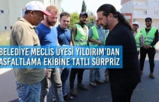 Belediye Meclis Üyesi Adem Yıldırım'dan Asfaltlama...