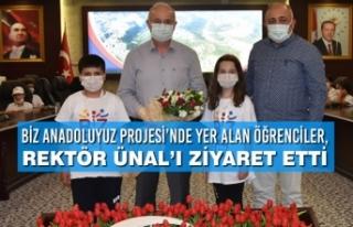 Biz Anadoluyuz Projesi'nde Yer Alan Öğrenciler,...