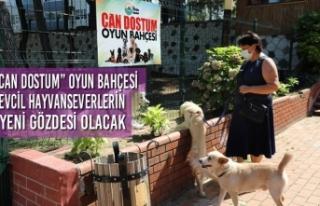 """""""Can Dostum"""" Oyun Bahçesi Evcil Hayvanseverlerin..."""