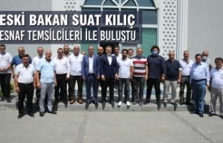 Eski Gençlik ve Spor Bakanı Suat Kılıç Samsun'da...
