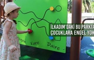 İlkadım'daki Bu Parkta Çocuklara Engel Yok