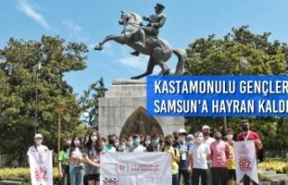 Kastamonulu Gençler Samsun'a Hayran Kaldı