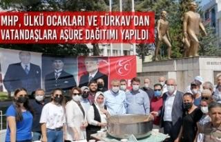 MHP, Ülkü Ocakları ve TÜRKAV'dan Vatandaşlara...