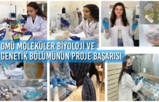 OMÜ Moleküler Biyoloji ve Genetik Bölümü Öğrencilerinin...