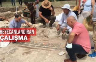Samsun'da Heyecanlandıran Çalışma