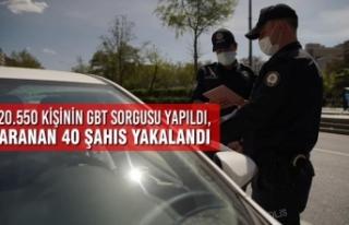 Samsun'da Aranan 40 Şahıs Yakalandı