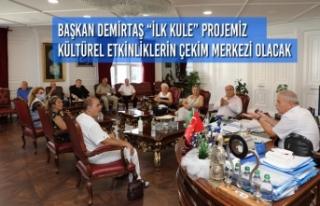 Samsunlu Sanatçılar Derneği Başkan Demirtaş'ı...