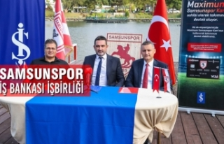 Samsunspor – İş Bankası İşbirliği