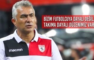 """Teknik Direktörü Altıparmak; """"Bizim Futbolcuya..."""