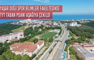 Yaşar Doğu Spor Bilimleri Fakültesinde TYT Taban...