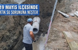 19 Mayıs'ın Atık Su Sorununa Neşter